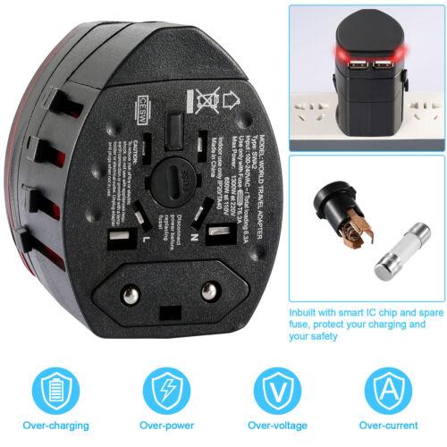 Universal Worldwide Travel Multifunction Power Plug AC Adapter Conversion Socket
