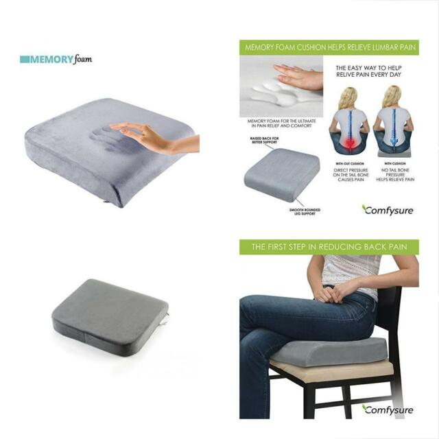 Comfysure Extra Cushions Large Seat Pad For Bariatric Overweight Users Memory