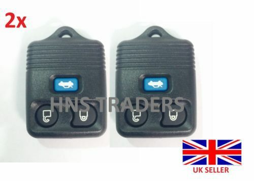 New 2x for Ford Transit Connect Maverick 3 Button Remote Key Fob Case *A56*