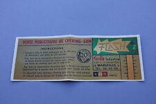 Chromotransfert décalcomanie Flash 421 Vente Chewing Gum publicitaire machine 60