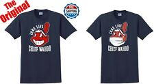 Cleveland Indians Long Live Chief Wahoo OR Face Mask T-SHIRT THE ORIGINAL S-5XL