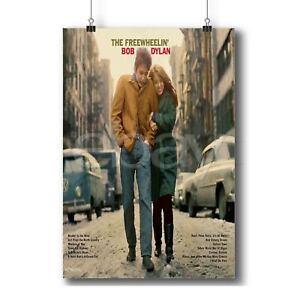 The Freewheelin Bob Dylan New Custom Art Poster Print Wall Decor