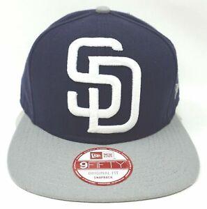 3df6d7b48da San Diego PADRES Snapback Cap MLB NEW ERA 9FIFTY Hat Adult OSFM ...