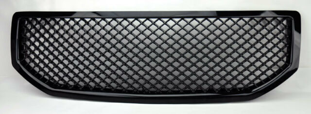 Dodge Caliber 06-10 Front Honeycomb Mesh Gloss Black Bumper Hood Grill