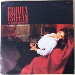 GLORIA-ESTEFAN-CAN-039-T-STAY-AWAY-FROM-YOU-LET-IT-LOOSE-7-034-45-VINYL-GREAT-CONDITION