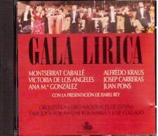 Caballé, De Los Angeles, Gonzalez, Kraus, Carreras, Pons: Gala Lirico - CD