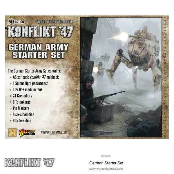 Konflikt´47 German Starter Set Warlord Games