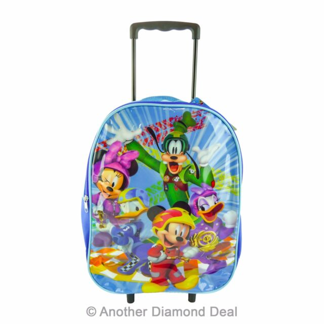 CHILDREN S DISNEY S MICKEY MOUSE LARGE BUDGET FOLD UP TROLLEY BAG BRAND NEW 04b0bb5755