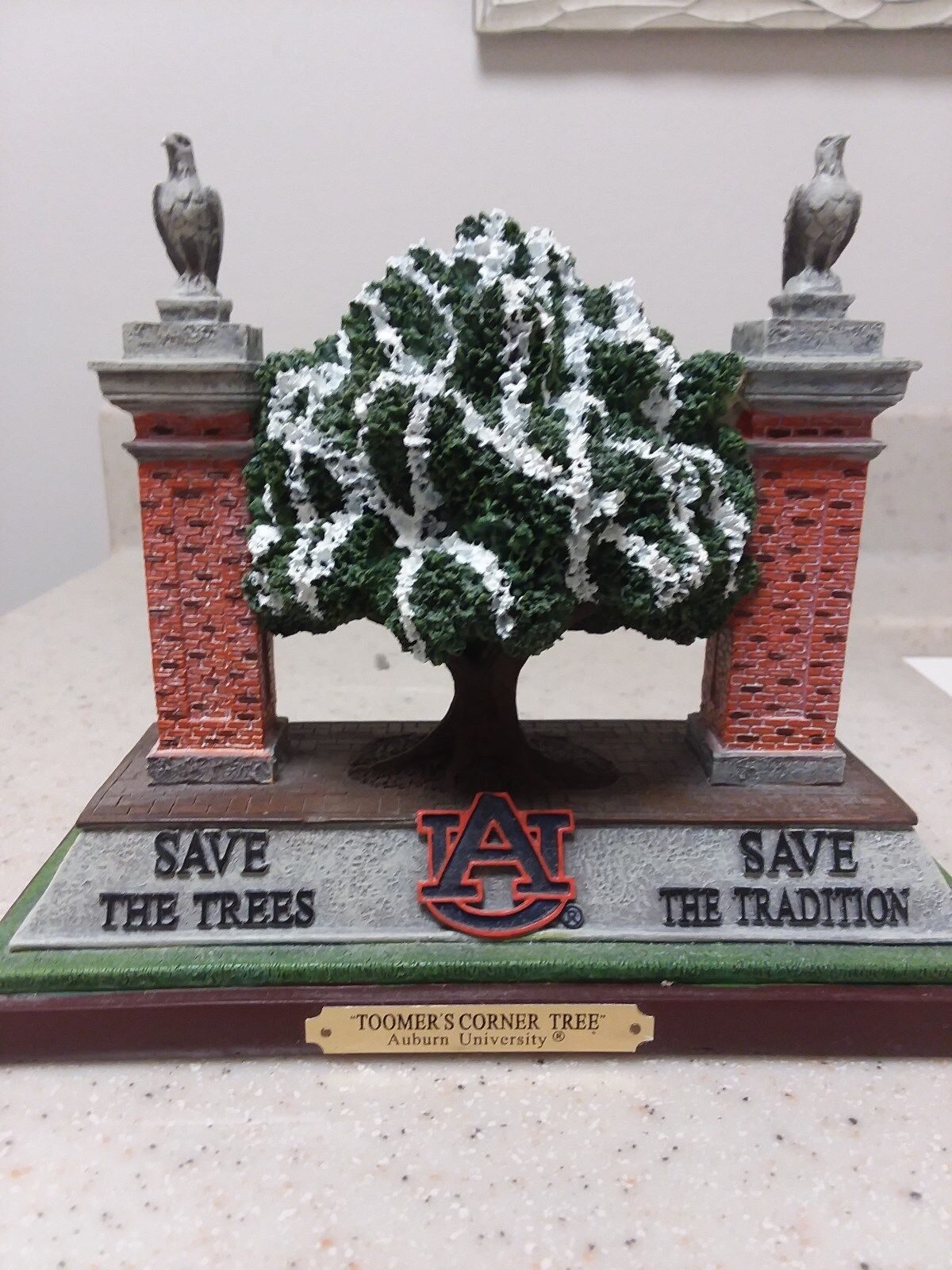 Auburn Tigers Save the Trees Collectible - Limited Edtion