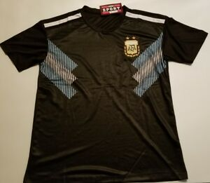 Image is loading Men-039-s-Argentina-2018-world-cup-away- 3a2ca1448