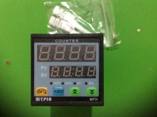 90-265V AC//DC 4 Preset Digital Counter //Length Meter Relay Output FH4-4CRNB