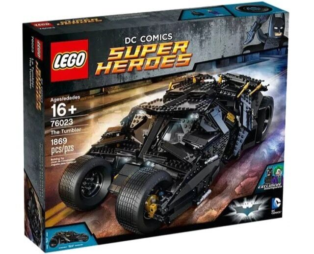 LEGO 76023 Tumbler Batman Joker 76139 1989 Batmobile DC Super Heroes NEW!