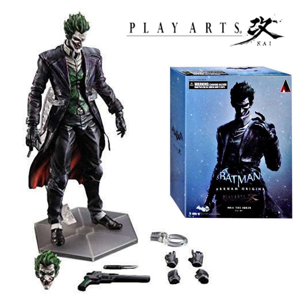 PLAY  ARTS KAI NO.4 THE JOKER BATuomo ARKHAM ORIGINS COLLECTION azione cifra giocattolo  in vendita online