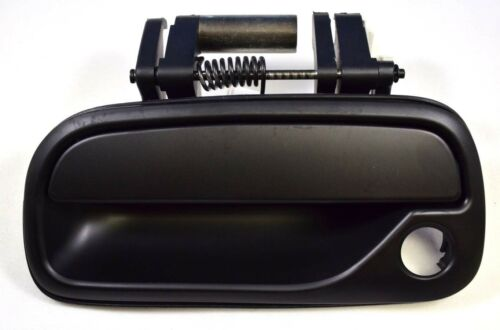 Outer Exterior Outside Door Handle Smooth Black Regular Access Cab Driver Front