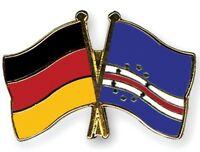 Deutschland Germany / Kap Verde - Freundschaftspin - Metal Pin - Neu