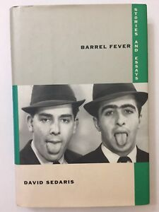 David-Sedaris-FIRST-EDITION-SIGNED-COPY-Barrel-Fever-Stories-and-Essays