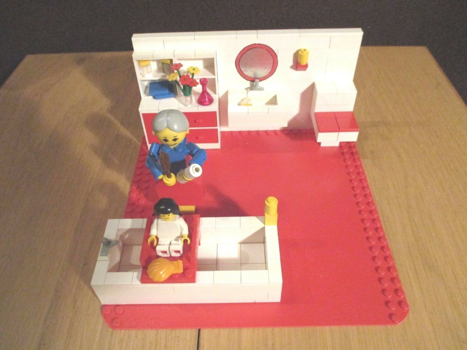 Lego - Homemaker - Badezimmer aus den 70 er Jahren