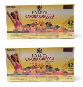 Hyleys 100 Garcinia Cambogia Assorted Tea Collection 42 Teabags
