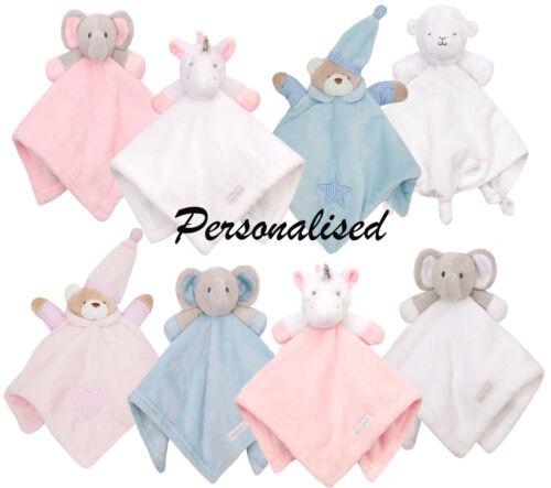 Personalisiert Baby Decke Bestickt Neugeboren Geschenk Komfort Decke Decke Neu