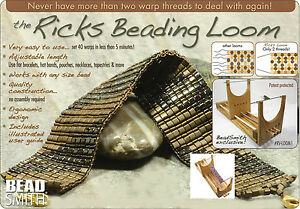 Details about Ricks Beading Loom - Beadsmith RV Loom - With User Guide FREE  USPS PRIORITY MAIL