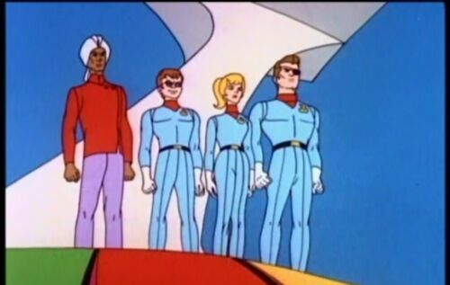 USA FANTASTIC VOYAGE CARTOON SERIES 1968 COMPLETE REGION 1 PLAYS IN THE USA