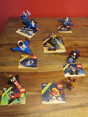 Lego Legoland Classic Space 6845 6881 6831 6847 6806 6811 6825 Complete I 8