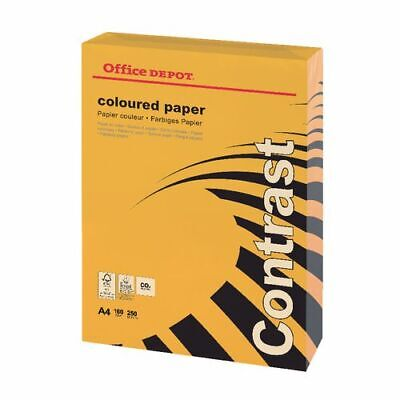Office Depot Coloured Printer Copy Paper A4 Blue 80gsm  250 sheets
