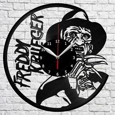 Freddy Krueger Vinyl Record Wall Clock Home Fan Art Decor 12/'/' 30 cm 6308