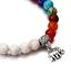 7-Chakra-Bracelet-Lava-Healing-Stones-Beaded-Gemstones-Beads-Elastic-Yoga thumbnail 31