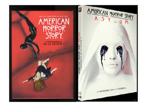 COFFRET-DVD-SERIE-HORREUR-AMERICAN-HORROR-STORY-SAISONS-1-A-2-COMME-NEUF