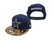 71a34908c Dallas Cowboys Navy Realtree Team Camo 9FIFTY Adjustable Snapback Hat   Cap
