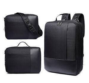 Laptop-Backpack-Portable-Carrying-Bag-Messenger-Case-3-in-1-Multifunction-15-6-034