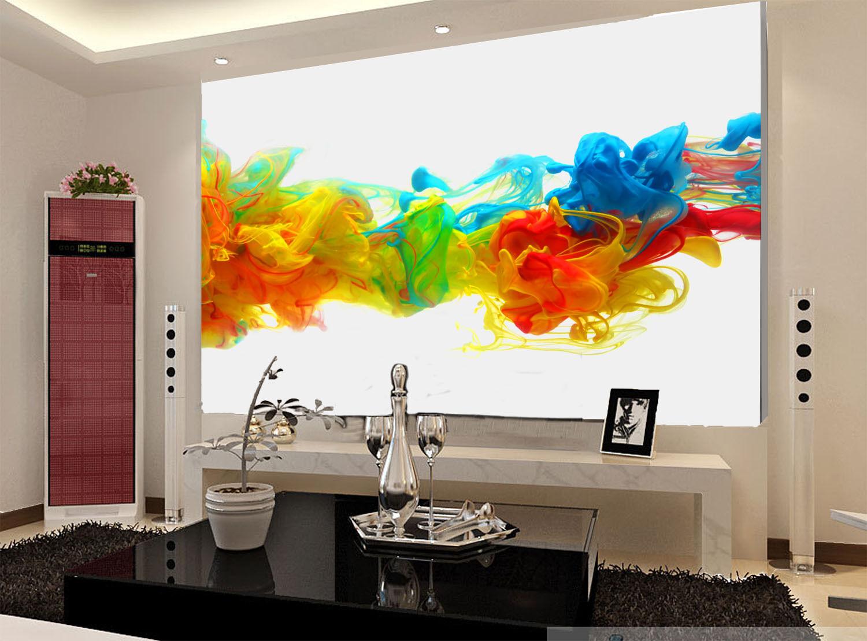 3D Bunte kunstwerke 4329 Fototapeten Wandbild Fototapete BildTapete Familie DE