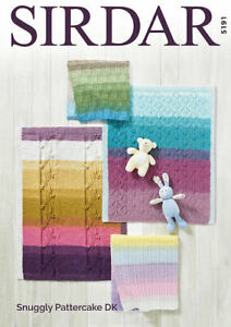 Sirdar-Snuggly-Pattercake-pattern-5191-Blankets