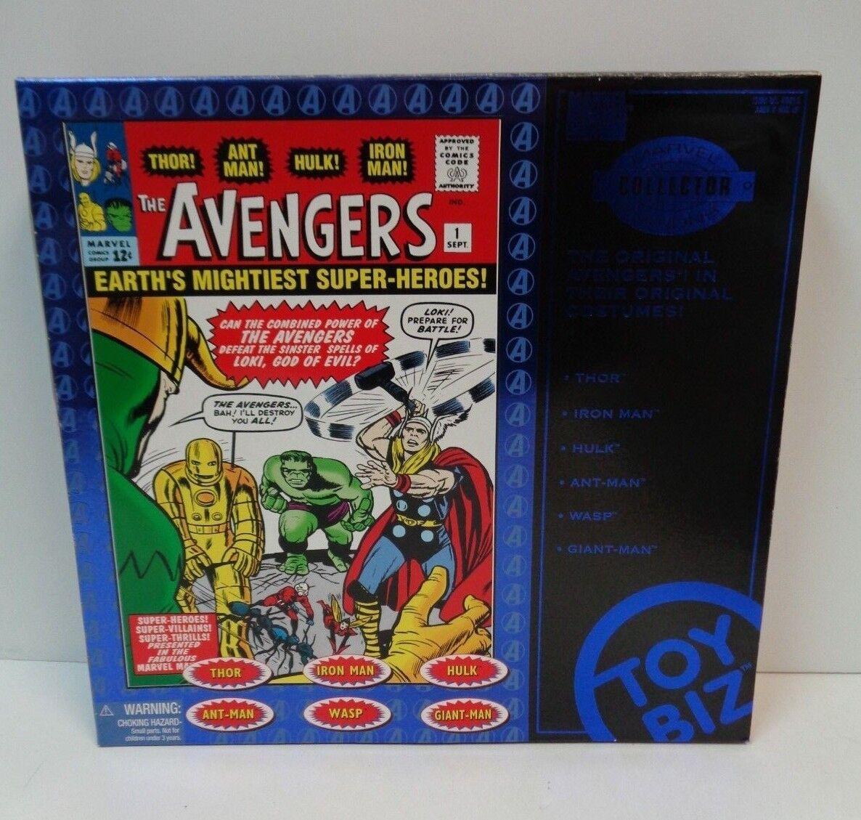 Marvel THE AVENGERS 6 azione cifras Marvel Marvel Marvel Collector ediziones MIB giocattoloBiz 1997 bdc3ee