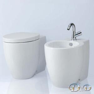 Azzurra Ceramica Full 54.Details Zu Sanitari Muro Vaso Coprivaso Bidet Full 54 Azzurra