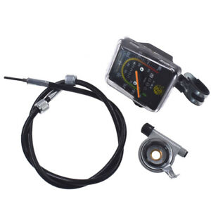 Speedometer-Odometer-Gauges-Analog-Classic-Style-Fits-Motorized-Bike