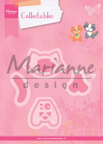 Frog Cat Marianne Design Collectables Dies W//Stamps CHOOSE: Mother Hen Bunny