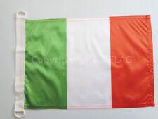 BANDIERA NAVALE ITALIA 45x30cm - BANDIERA MARITIMA ITALIANA 30 x 45 cm speciale