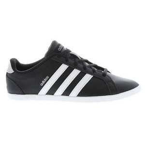 Détails sur Adidas Femme CONEO QT Baskets Sport Chaussures Basses À Lacets Tige En Cuir à Rayures afficher le titre d'origine