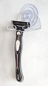 Wandhalter Saugnapf Rasierer Wandhalterung Dusche Halterung für Nassrasierer