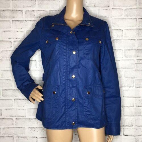 J. Crew downtown field jacket M medium blue