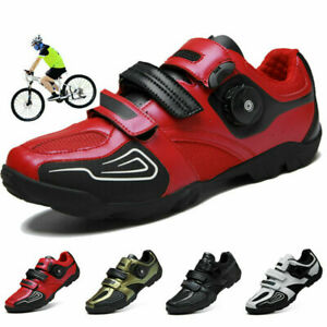 MTB Professional Men/'s Cycling Sneakers Mountain Road Bike Bicycle Racing Shoes