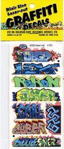 HO-Scale-Blair-Line-2261-Graffiti-Decals-Mega-Set-12-8-pcs