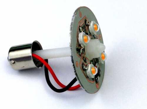 MKV1  Roundnose LED front indicator light boards pair -291 Classic Mini MK1