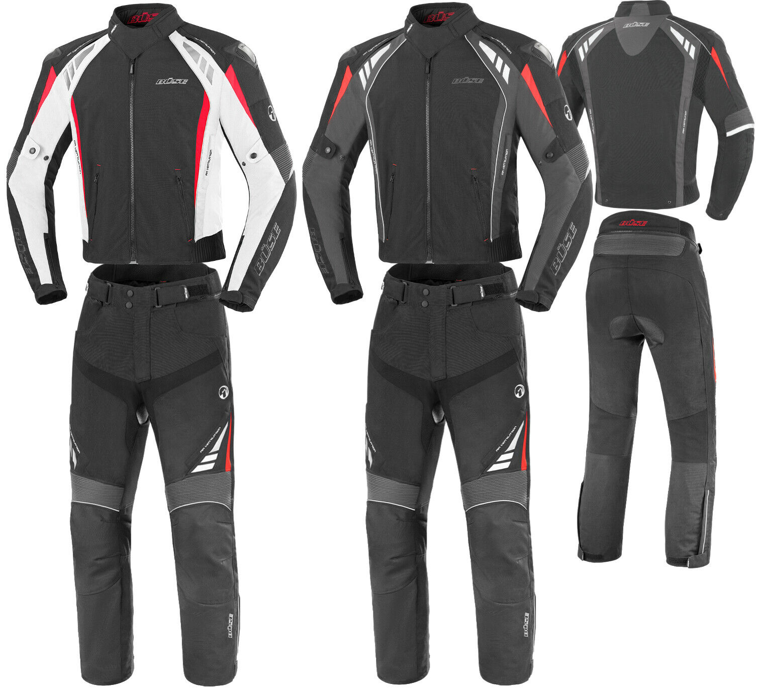 B/üse B.Racing Pro Motorrad Textilhose Lang 102