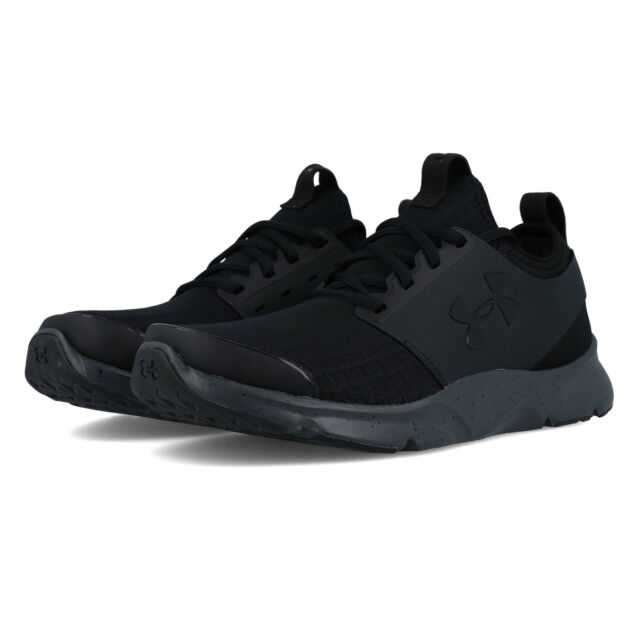 ff2d1780 Under Armour Mens Drift Running Shoes Trainers Black Sports Breathable