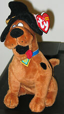 Ty Beanie Baby - SCOOBY-DOO the Dog (Halloween ~ Witch Hat) (7 inch) -  MWMT'S