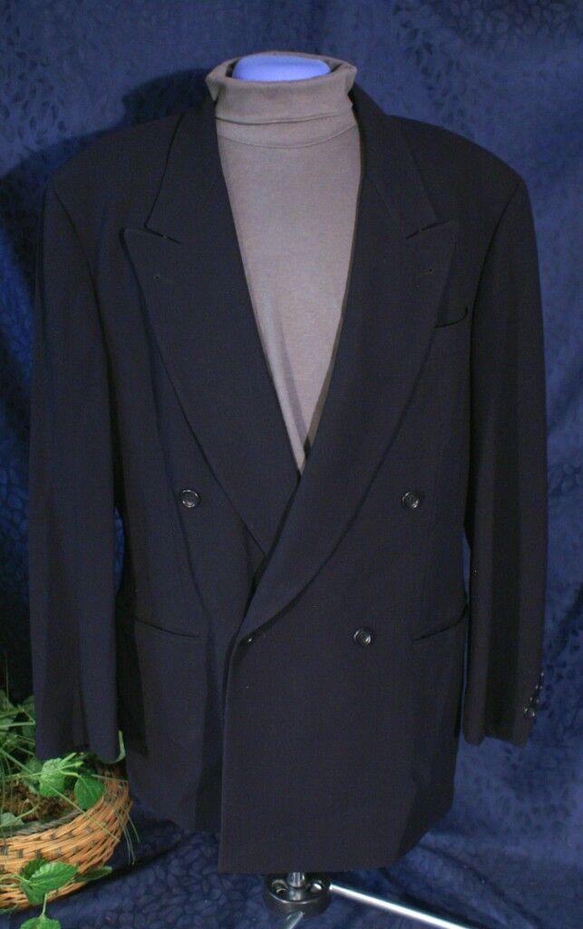Handsome Double Breast Dark Navy Blau HUGO BOSS Sport Coat 40R
