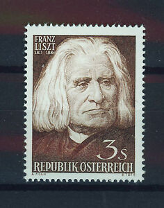 AUSTRIA-1961-MNH-SC-674-Franz-Liszt-composer